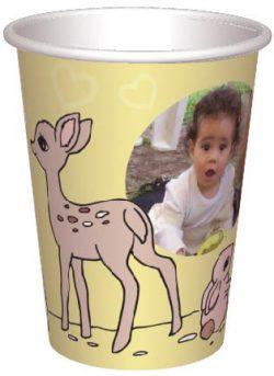 כוס איילה וארנבונים
