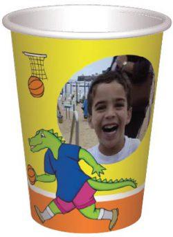 כוס פילון וקרוקודיל משחקים כדורסל