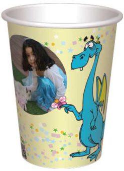 כוס דרקון ופרפר