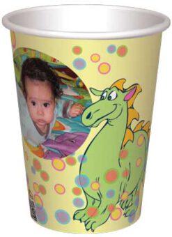 כוס פיסטוק הדרקון ובועות