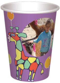 כוס גירפות ובלונים