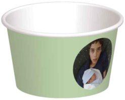 קערית גלידת מנטה