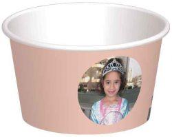 קערית גלידת אפרסק
